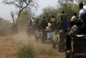RSF militia convoy in Darfur (File photo)