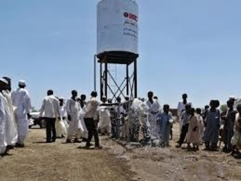 A water tank in Sudan (File photo)