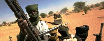 An armed column of paramilitary Rapid Support Forces in North Darfur (File photo)