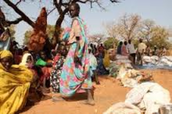 Displaced in an SPLM-N-held area in South Kordofan (File photo)