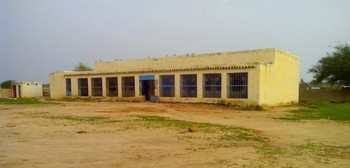 The only ward at El Sareif Beni Hussein Hospital in North Darfur (Unamid).