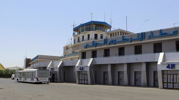 Khartoum Airport arrival's hall (file photo)