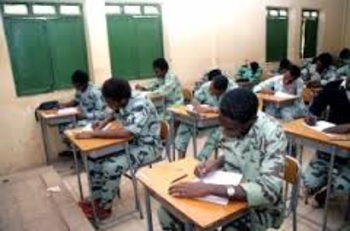 Secondary school students sit for their exams (file photo)