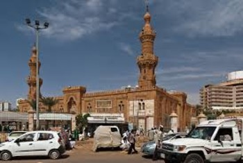 The Grand Mosque in the Arab Market in Khartoum (File photo)