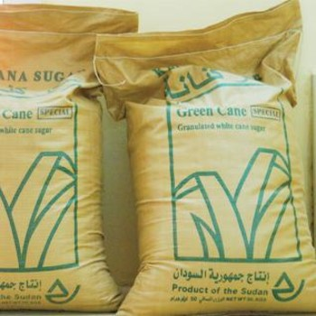 50 kg Kenana sugar sacks (File photo: Al Sudani newspaper)