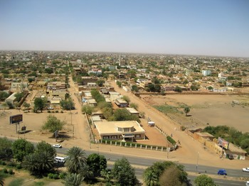 Aerial view of the centre of Omdurman (panoramio.com)