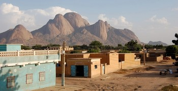 A residential district in Kassala town (file photo)