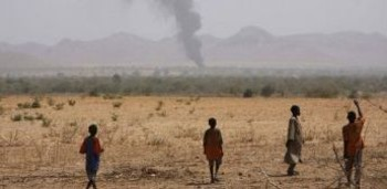 Bombing in Darfur's Jebel Marra (file photo)