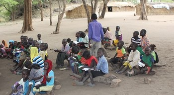 A class in Yabous, Blue Nile state (RD)