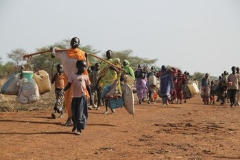 South Sudanese refugees seeking refuge in Sudan (File photo: MSF)