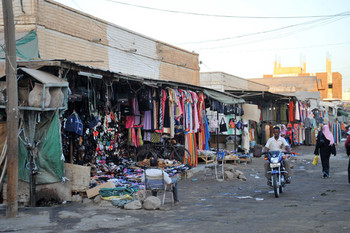 Clothing market in Kassala (File photo: Brian Morrow/Skyscrapercity)