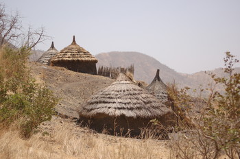 A village in the Nuba Mountains, South Kordofan (file photo)