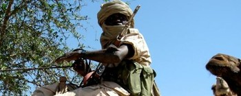 Darfur gunman (File photo)