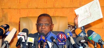 Head of the National Intelligence and Security Service (NISS), Mohamed Atta Abbas El Moula (sudanvisiondaily.com)