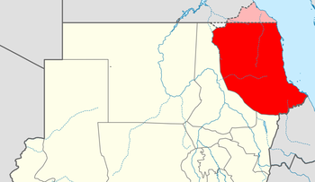 Red Sea state in Sudan (Wikimedia Commons)