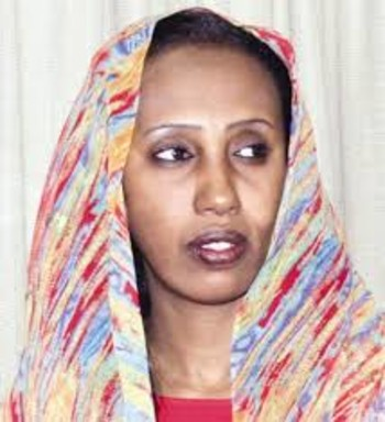 Hiba Abdelazim, journalist of the El Sudani newspaper (file photo)