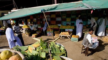 The Kassala food market (file photo)
