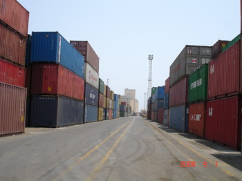 El Kheir terminal in Port Sudan (file photo)