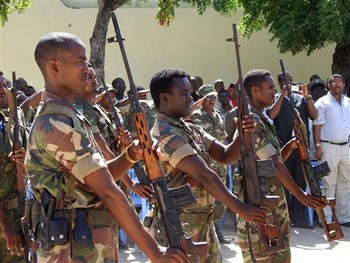 Ethiopian soldiers (file photo)