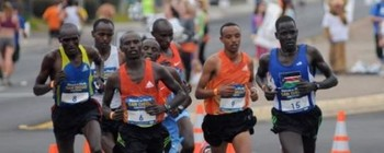 Sudanese athletes (file photo)