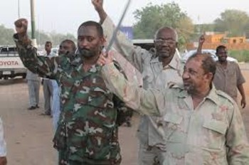 Members of the Popular Defence Forces militia in Sudan (File photo)