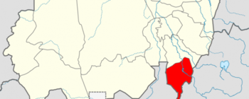 Blue Nile state in Sudan