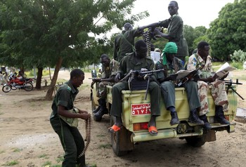 File photo: Sudanese Army patrol