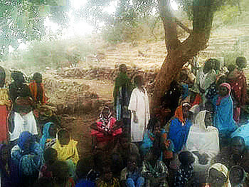 Displaced people in Jebel Marra (RD)