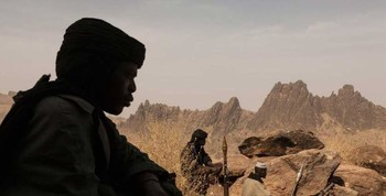 Rebel fighters of the Sudan Liberation Movement, led by Abdulwahid El Nur (file photo)