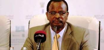 El Tijani Sese, chairman of the Darfur Regional Authority (file photo)