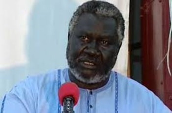 Malik Agar, head of the SPLM-N in Blue Nile (File photo: RD)
