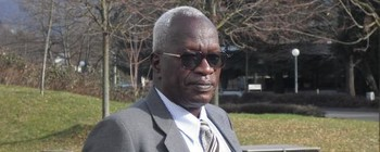 Mohamed Abdallah El Doma, chairman of the Darfur Bar Association (Radio Dabanga)