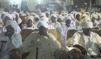 Tribal conference in Darfur (file photo)