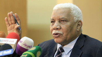 Information Minister Ahmed Bilal Osman (Aawsat)