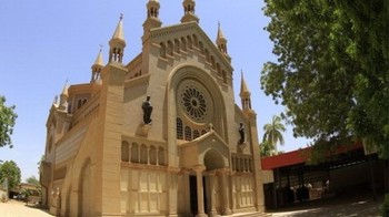 A church in Khartoum (file photo)