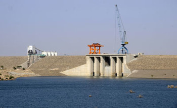 Construction of the Setit Dam (Sudanese Dams Implementation Unit)