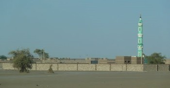 The walls surrounding the playground in El Deim district, southern Khartoum (trip-suggest.com)