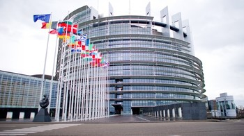 EU Parliament building in Strasbourg (File photo)