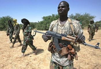 Combattants of the Justice and Equality Movement in Darfur (File photo en.africatime.com)