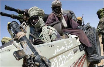 Combatants of the Darfur rebel Justice and Equality Movement (File photo: Aberfoyle International Security)