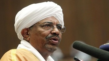 President Omar Hassan Al Bashir of Sudan (file photo)