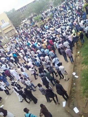 Student boycott action Port Sudan 28 Dec 2016