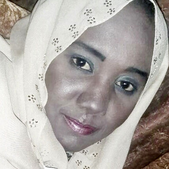 Detained lawyer and human rights activist, Tasneem Ahmed Taha