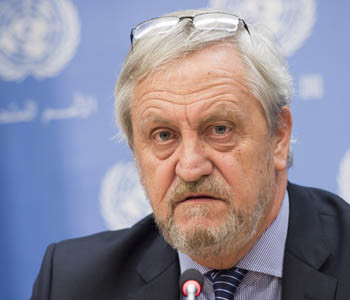 Nicholas Haysom, envoy of the Secretary-General of the United Nations for Sudan and South Sudan (UN Photo / Mark Garten)