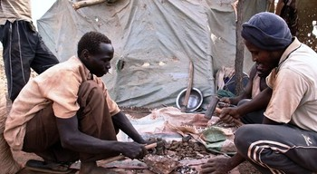 Gold workers in South Kordofan (File photo: Adam Moller)