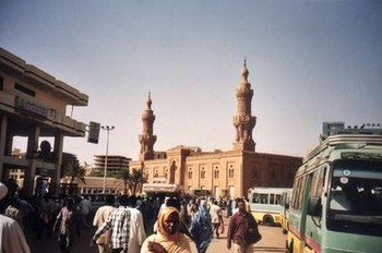 The Grand Mosque at the El Soug El Arabi in downtown Khartoum (File photo: The Age)