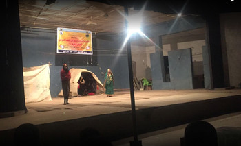 A production at the Tajoj Theatre in Kassala (File photo)