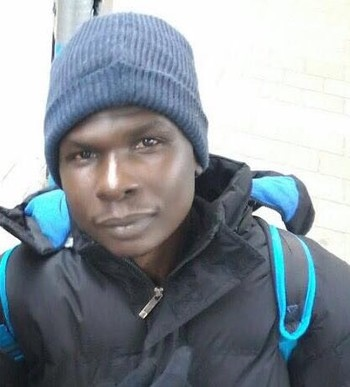 Waleed Adam, from the Nuba Mountains in South Kordofan, facing deportation from the Netherlands on 16 May 2017 (file photo)