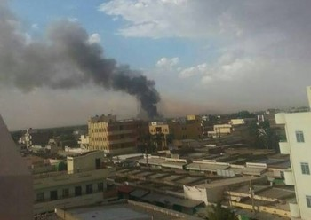 Ammo blast causes terror in Nyala, capital of South Darfur (RD correspondent)