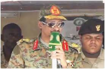 Commander of the RSF, Lt Gen Mohamed Hamdan (also known as Hemeti) (File photo)